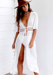 Maxi Dress Beach Cover Up Tunic
