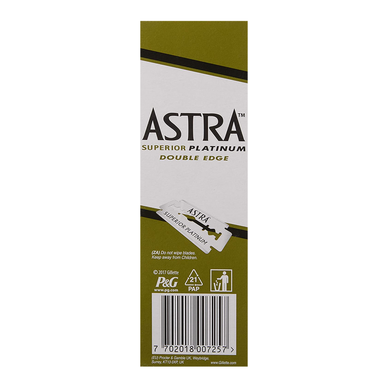 Astra Double Edge Shaving Blades