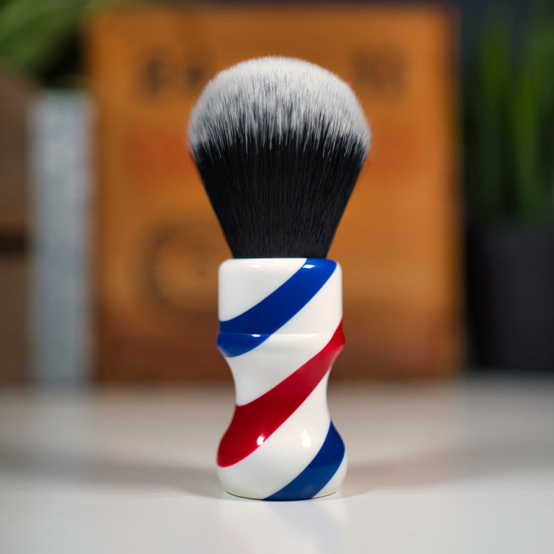 Shaving Brush BARBER POLE Synthetic