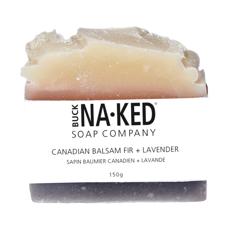 Buck Naked Soap Bar CANADIAN BALSAM FIR + LAVENDER