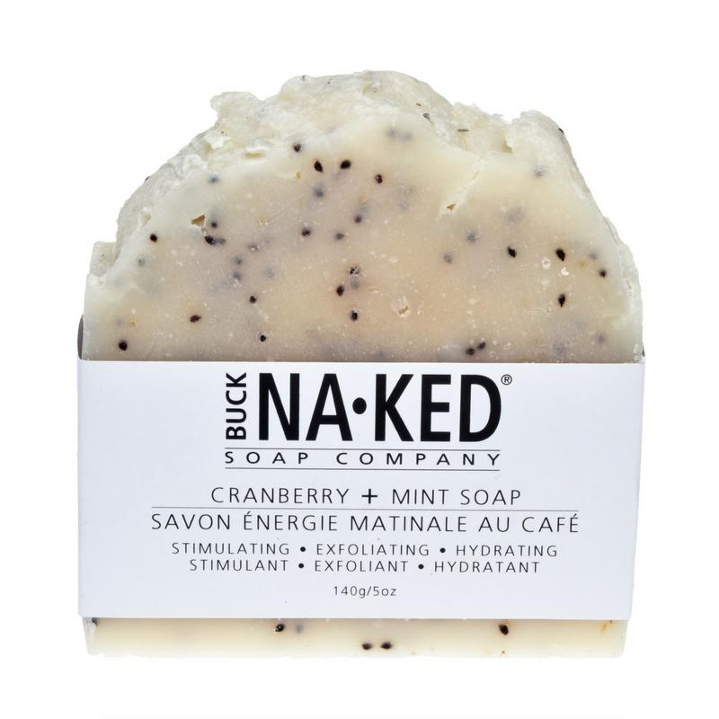 Buck Naked Soap Bar CRANBERRY MINT Soap