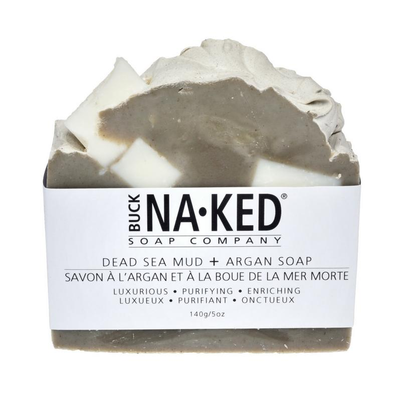 Buck Naked Soap Bar DEAD SEA MUD ARGAN Soap