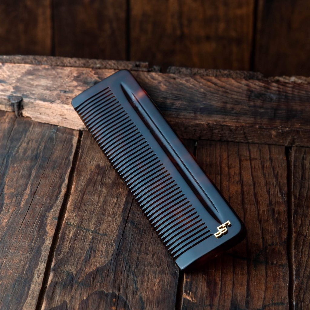 Educated Beards Cellulose Acetate Luxury Comb