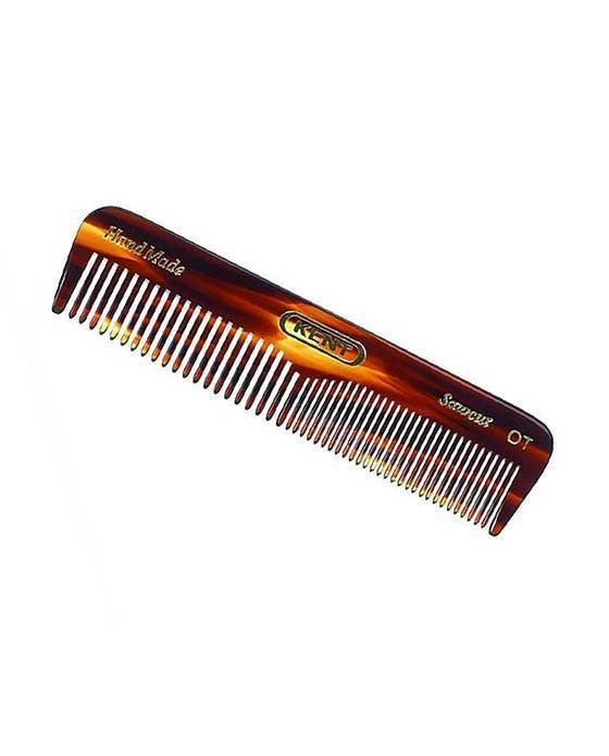 KENT K-OT COMB, POCKET COMB, COARSE/FINE (110MM/4.3IN)