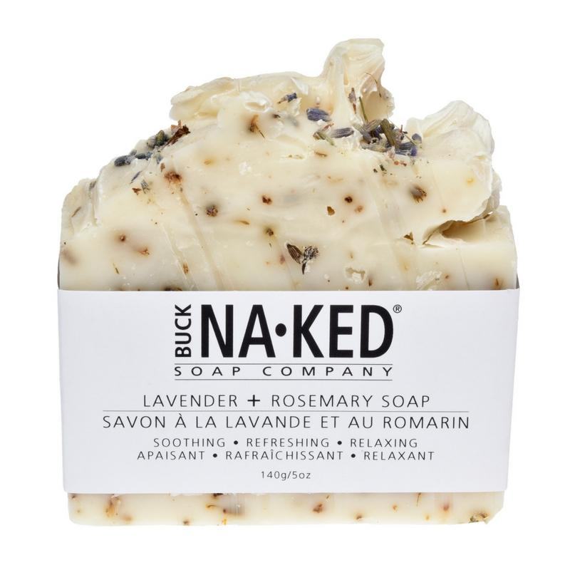 Buck Naked Soap Bar LAVENDER ROSEMARY Soap