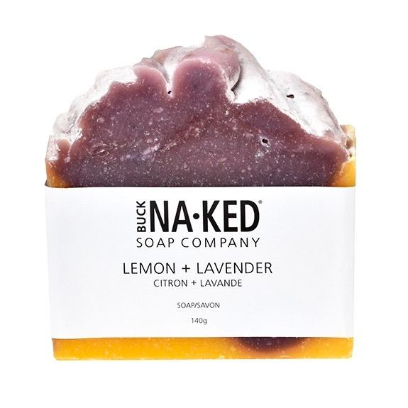 Buck Naked Soap Bar LEMON LAVENDER