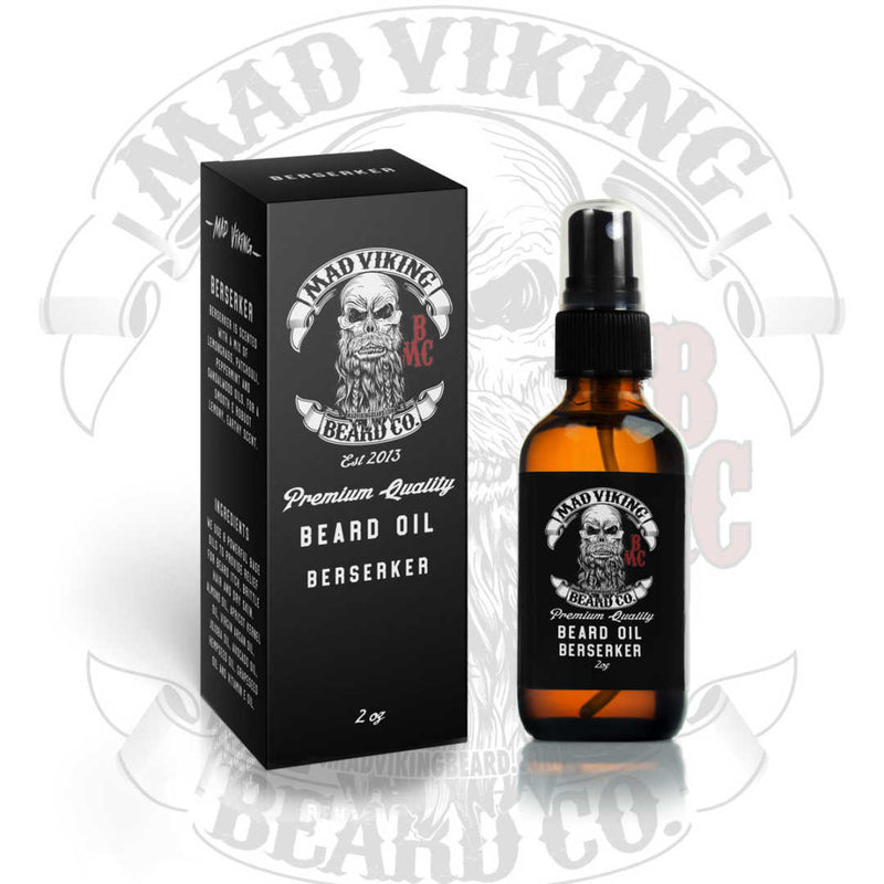 Mad Viking BEARD OIL 2oz Berserker