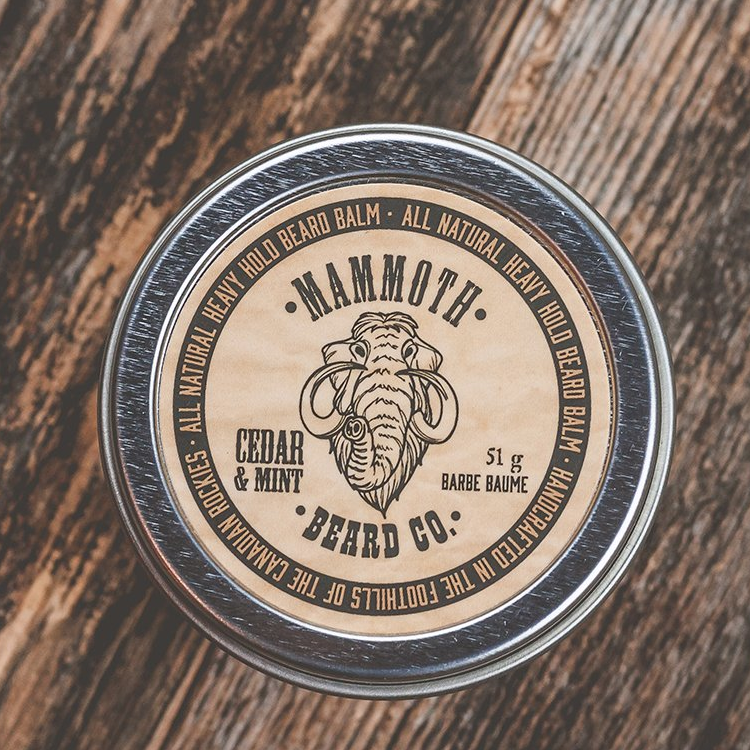 Mammoth Beard HEAVY HOLD BEARD BALM - Cedar & Mint