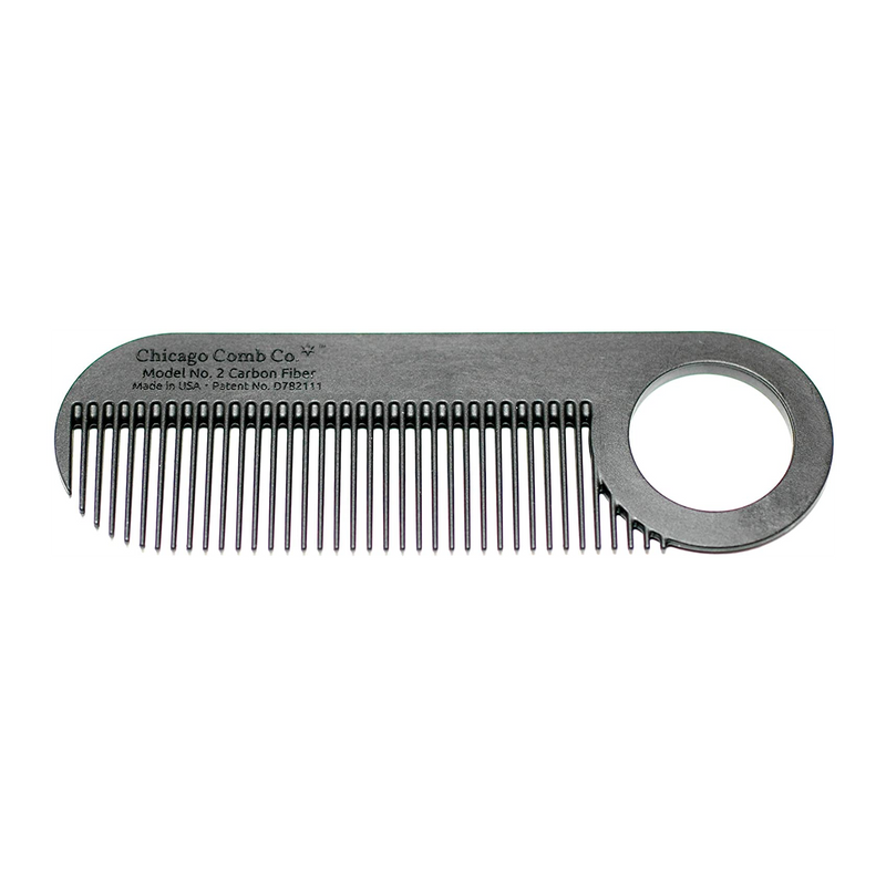 Chicago Comb MODEL NO. 2 Carbon Fiber