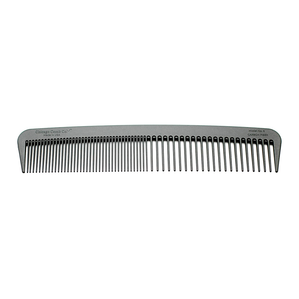 Chicago Comb MODEL NO. 6 Carbon Fiber