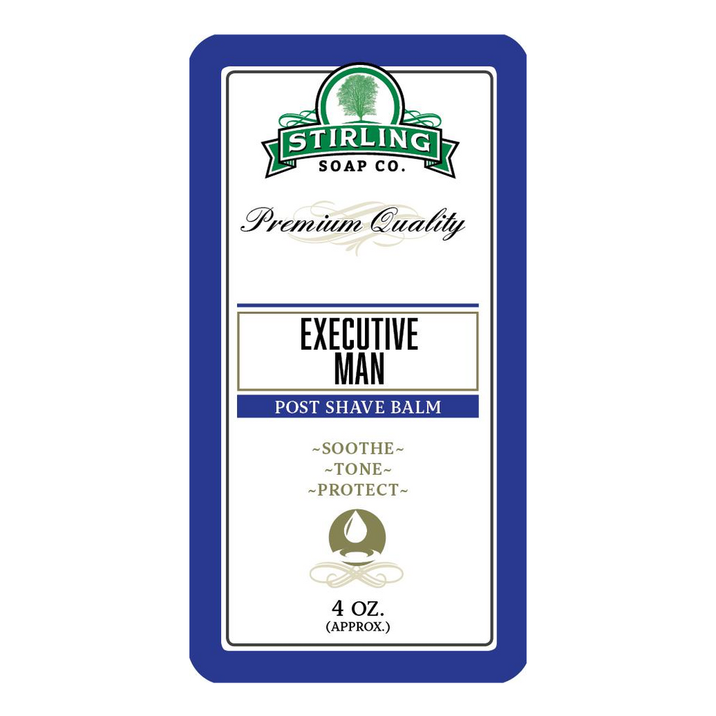 Stirling Soap Company EXECUTIVE MAN - Post-Shave Balm