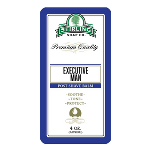 Stirling Soap POST-SHAVE BALM Executive Man