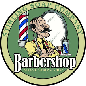 Stirling Soap Company BARBERSHOP - Shave Soap