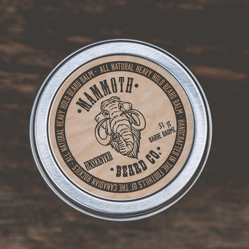 Mammoth Beard HEAVY HOLD BEARD BALM - Unscented