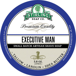 Stirling Soap Company EXECUTIVE MAN - Shave Soap