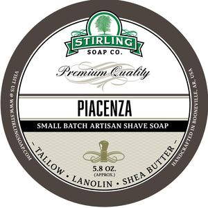Stirling Soap SHAVE SOAP Piacenza