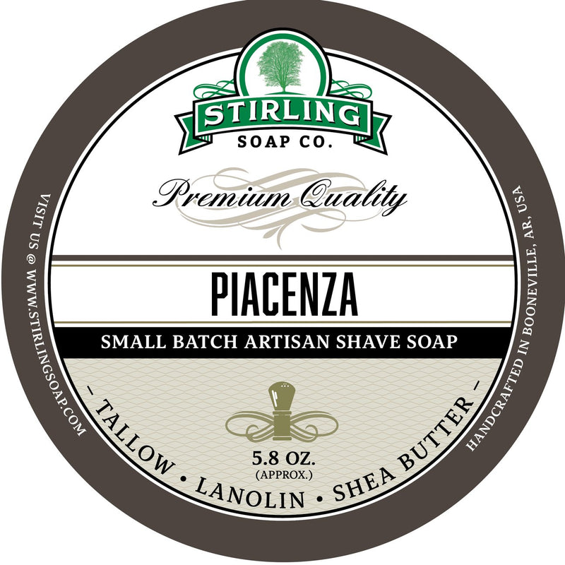 Stirling Soap Company PIACENZA - Shave Soap