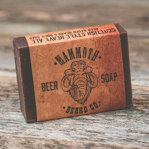 Mammoth Beard BIG ROCK BEER SOAP - Scottish Heavy Ale