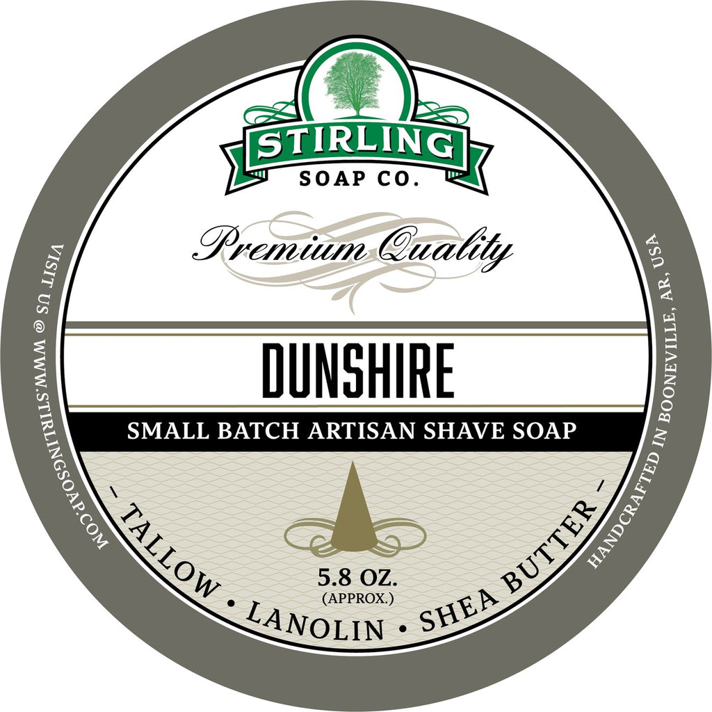 Stirling Soap Company DUNSHIRE - Shave Soap