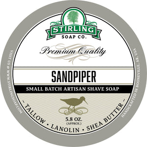 Stirling Soap Company Sandpiper - Shave Soap