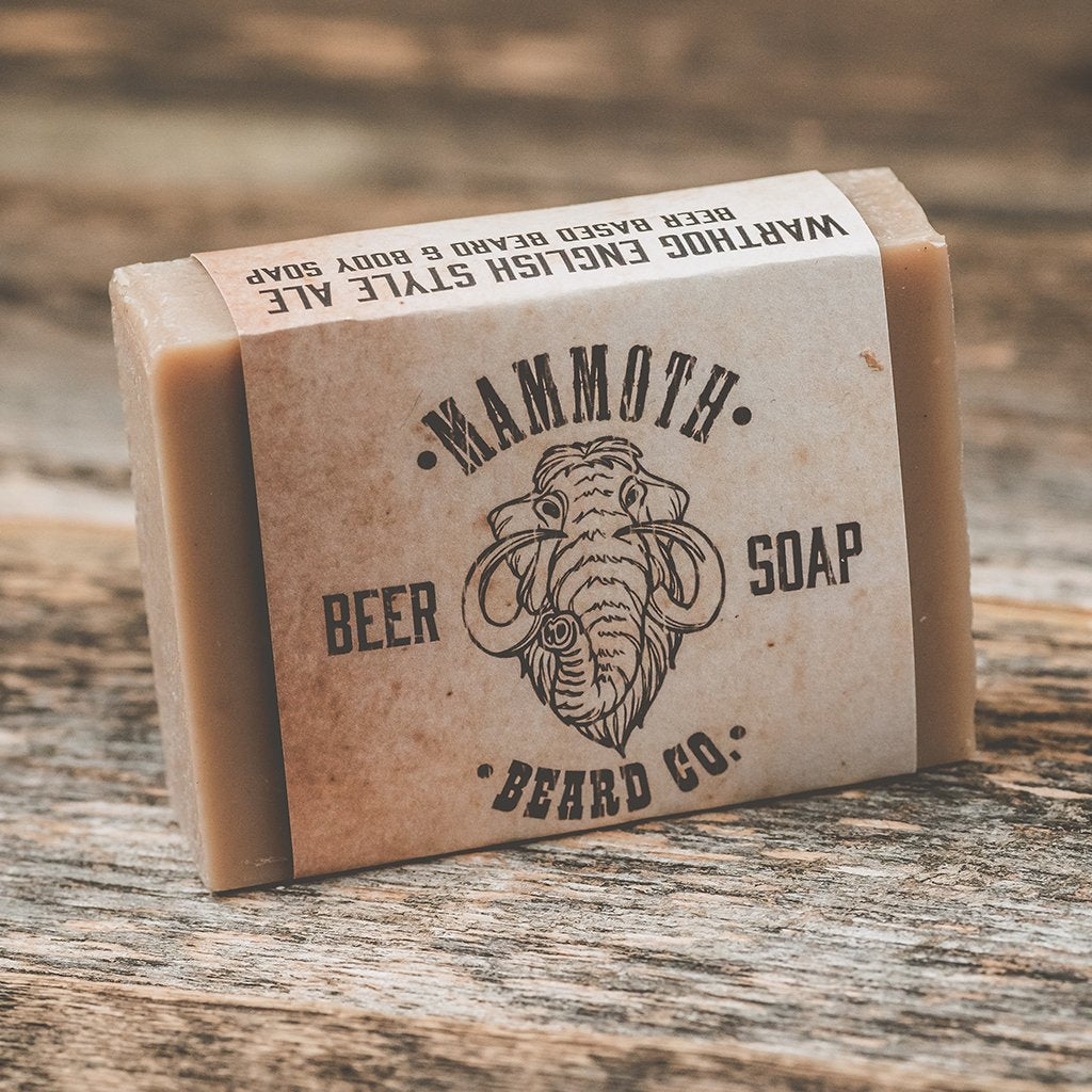 Mammoth Beard BIG ROCK BEER SOAP - Warthog Ale Soap