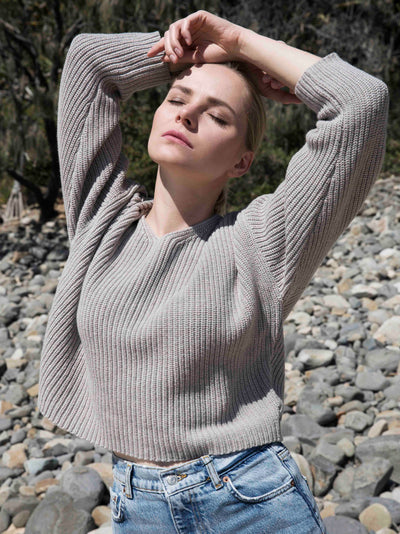 IVETTE CROPPED SWEATER