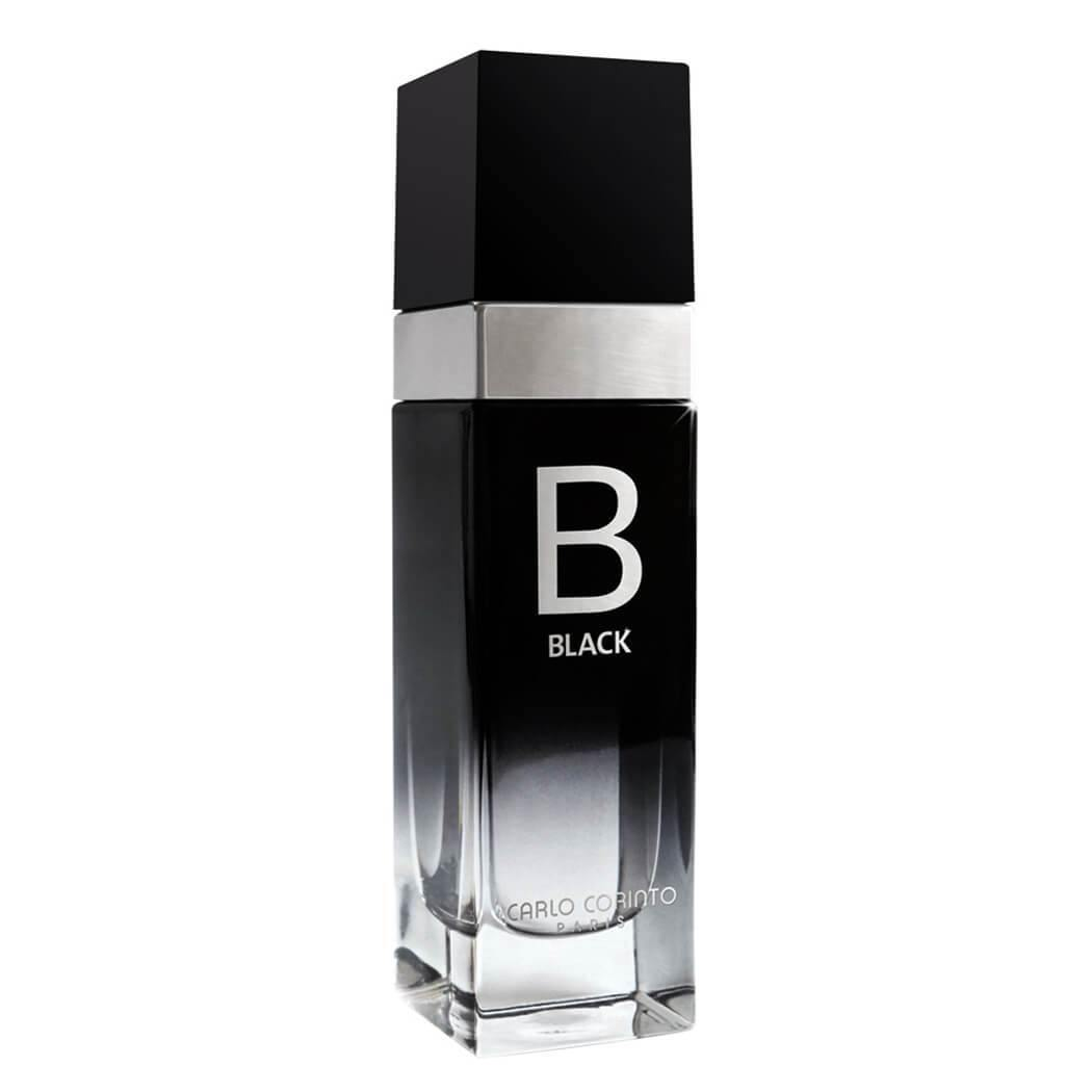 Black for Men by Carlo Corinto Eau de Toilette 100 ML