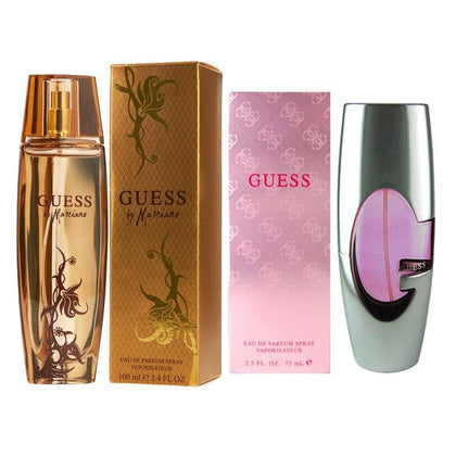Paquete Perfumes Guess 75ml + Guess by Marciano 100ml para Mujer - Arome Mexico