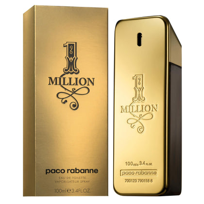 Perfume 1 Million para Hombre de Paco Rabanne Eau de Toillete 100ML - Arome Mexico
