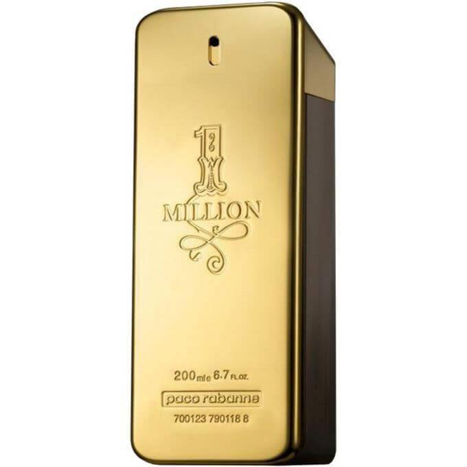 Perfume 1 Million para Hombre de Paco Rabanne EDT 200ML