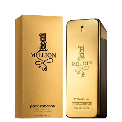 Perfume 1 Million para Hombre de Paco Rabanne EDT 200ML - Arome Mexico