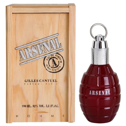Perfume Arsenal Red para Hombre de Gilles Cantuel EDT 100ml - Arome Mexico