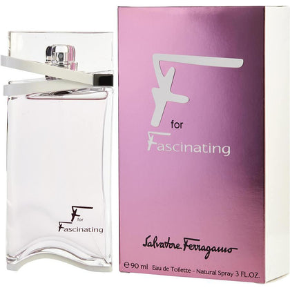 Perfume F for Fascinating para Mujer de Salvatore Ferragamo EDT 90ml - Arome Mexico