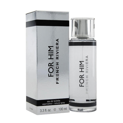 Perfume French Riviera For Him de Carlo Corinto Eau de Toilette 100ml - Arome Mexico