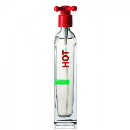 Perfume Hot Para Mujer de Benetton Eau de Toilette 100ml - Arome Mexico