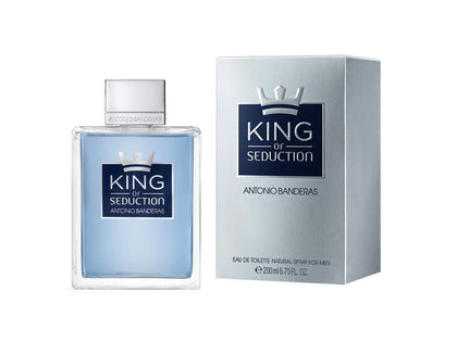 Perfume King of Seduction para Hombre de Antonio Banderas edt 200ML - Arome Mexico