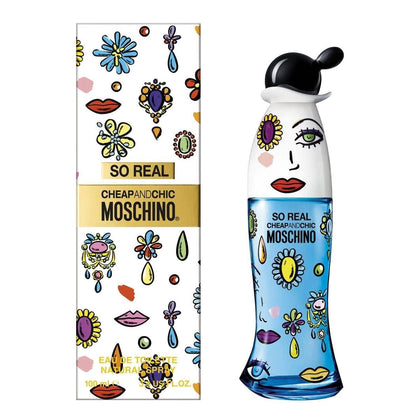 Perfume So Real Cheap & Chic para Mujer de Moschino EDT 100ML - Arome Mexico
