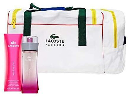 Set Lacoste Touch of Pink 50ml+Maleta Sport - Arome México