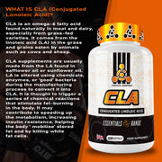 CLA Softgels 4000mg (Conjugated Lonoleic Acid 30 Servings)