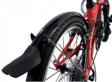 SKS MINI 20 MUDGUARDS, DAHON SPECIAL EDITION, BLACK
