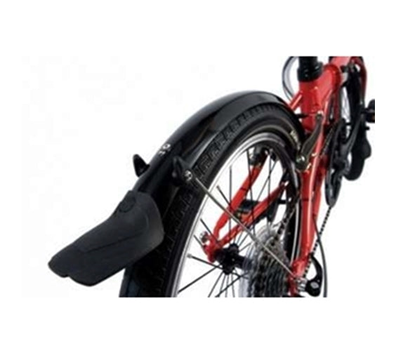 SKS MINI 16 MUDGUARDS, DAHON SPECIAL EDITION, BLACK
