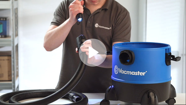 How to unblock Vacmaster Wet and Dry Vacuum Video