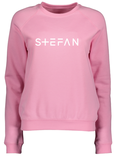 Ladies Pink Sweatshirt Signature