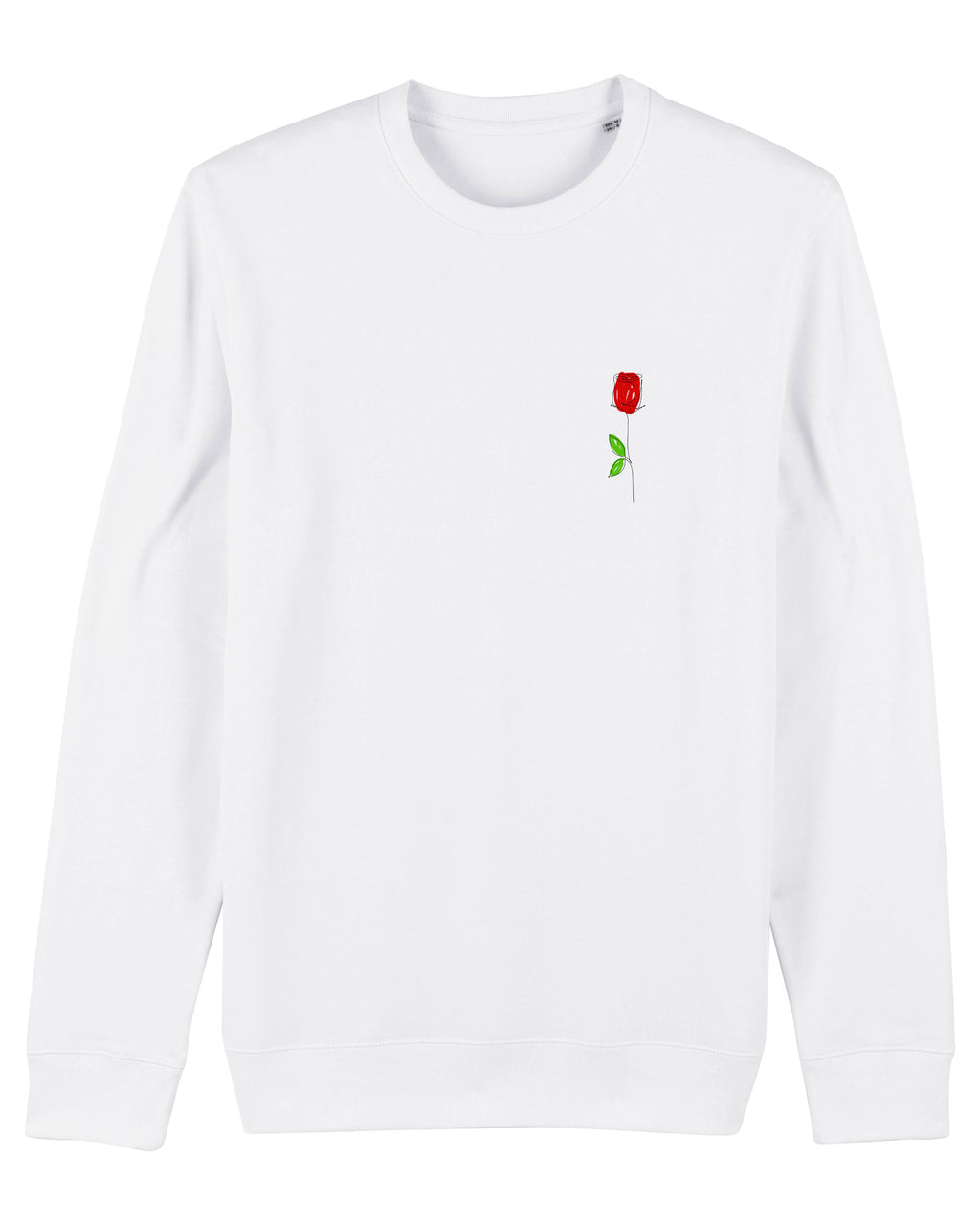 Sweat-shirt passion (white)