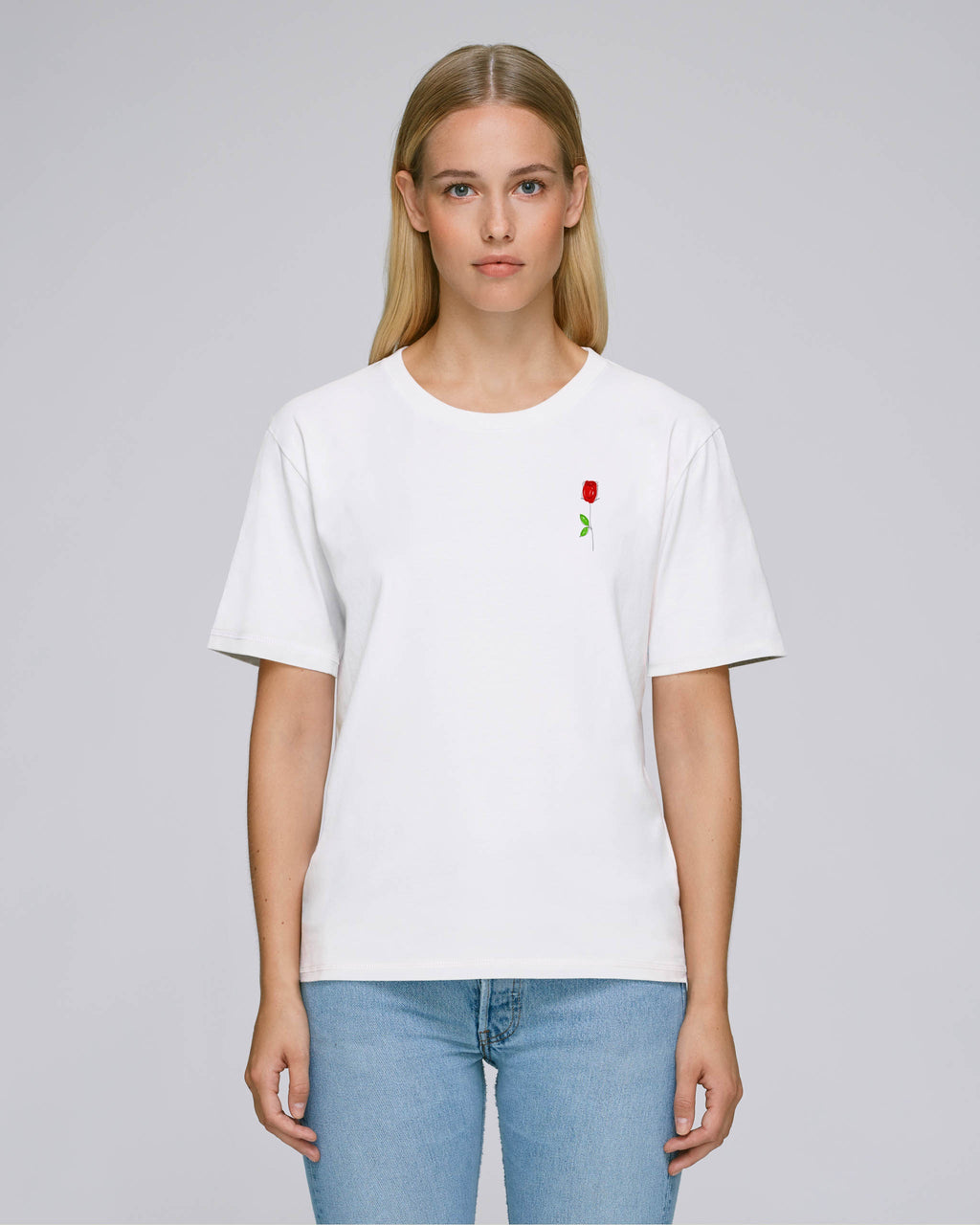 T-shirt oversize passion (white)