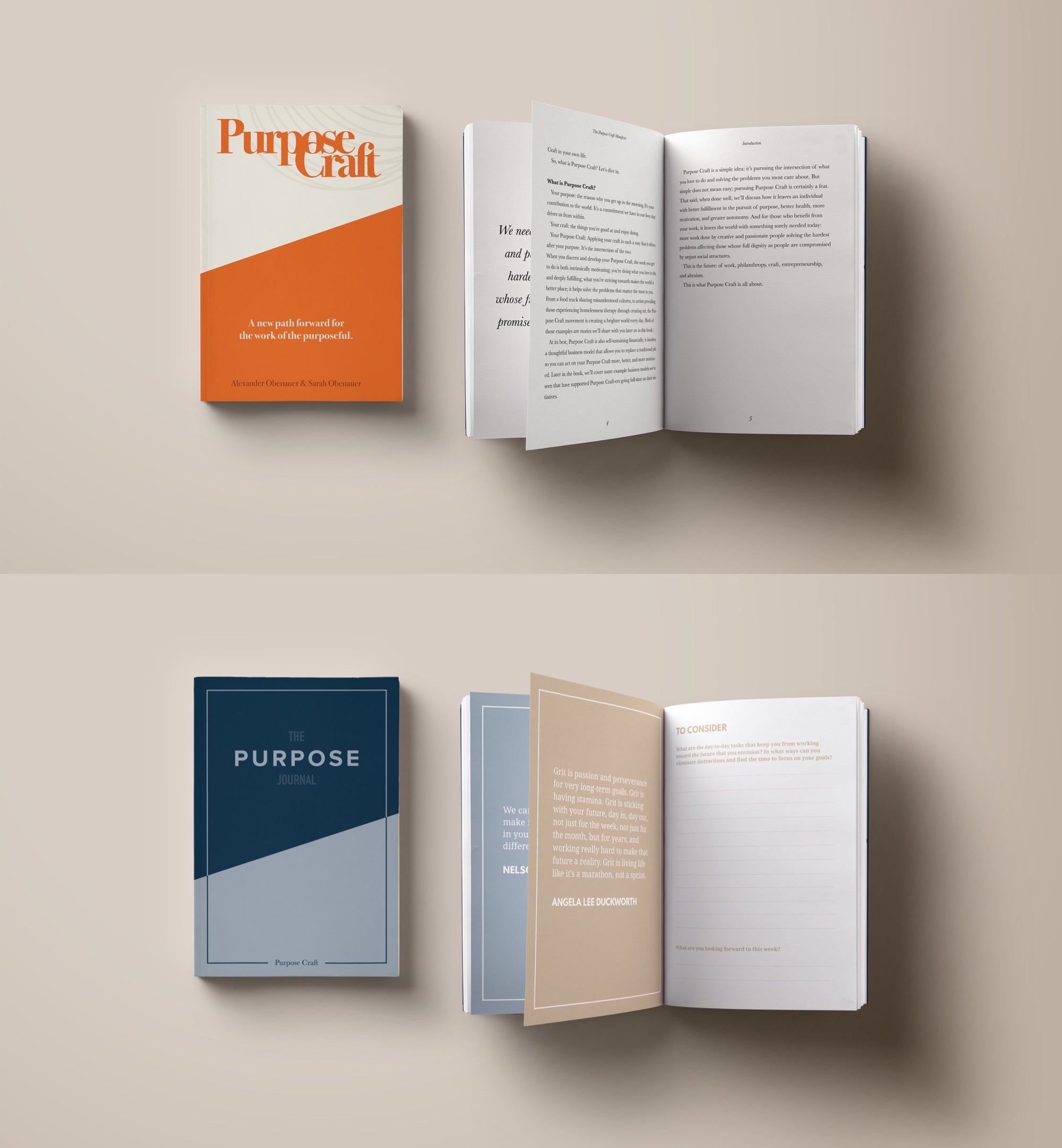 Special Bundle: The Purpose Journal + The Purpose Craft Manifesto