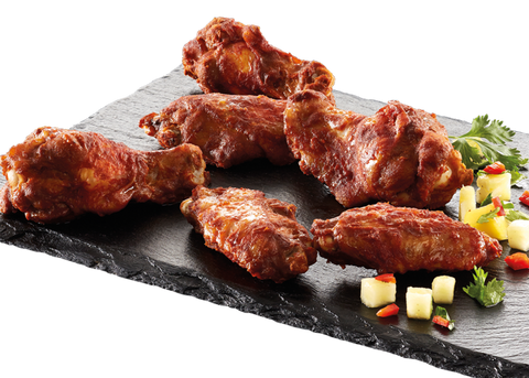 Grillede smoky BBQ wings XL 40-60g