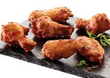 Grillede BBQ wings (1 & 2 led), 30-40g