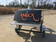 Menard Rotisserie Meat-Smoker on Trailer