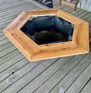 Wood-Burning Fire Pit